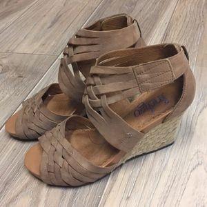 Indigo by Clarks wedge sandals